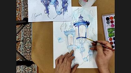 Watercolor Workshop 001