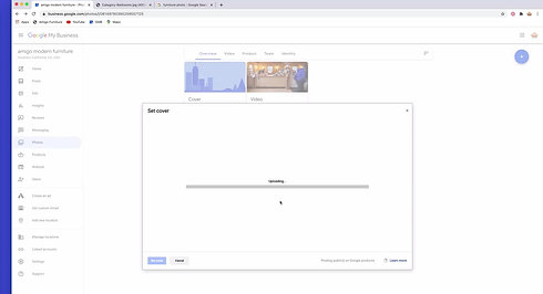 GMB Tutorial 6   More Tabs