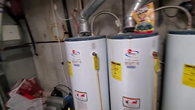 Storage, HVAC, water heaters.
