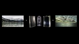 Zugspitze in Glass