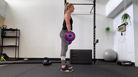 STAGGERED SQUAT