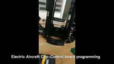 Electric Aircraft Cup control board programming