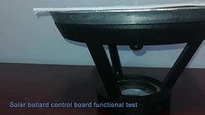 SOLAR BOLLARD CONTROL BOARD FUNCTIONAL TEST