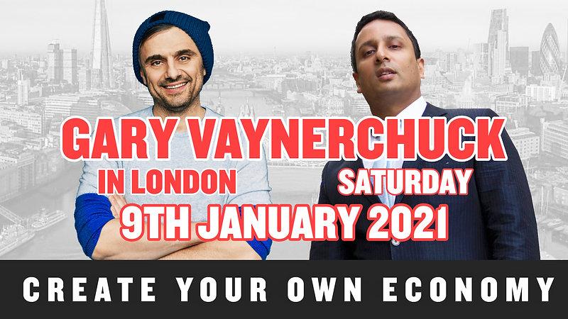 GARY VEE IN LONDON 9 JAN 2021. Why I Create Entrepreneur Events?
