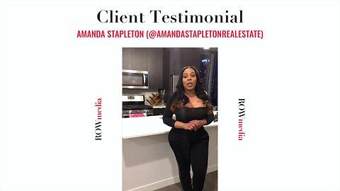 Client Testimonial: Amanda Stapleton