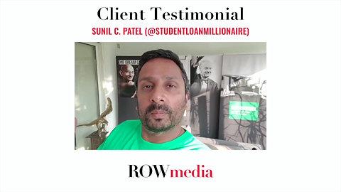 Client Testimonial: Sunil C. Patel