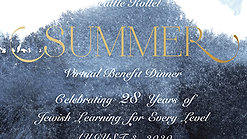 The Seattle Kollel Summer Virtual Benefit Dinner