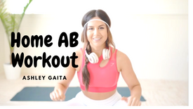 FOLLOW ALONG HOME AB WORKOUT BODYWEIGHT NO EQUIPMENT   ASHLEY GAITA