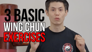 10 Minute Wing Chun Workout Exercises - Routine #1 - Punching and Moving