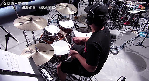 Trade 16/32 Improvisation with HKDrumFest Live band Accompaniment