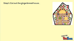 Make this Colorful Gingerbread House