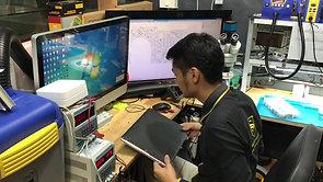 """ซ่อม Macbook Pro Retina 15"""" 2012 820 3332 black screen อาการเปิดติดจอดำ เปลี่ยนการ์ดจอ By ช่าง ฮาร์ท Smile IT Service"""