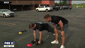 Fox 2 Detroit - Get Fit / Under Armour Charity Bootcamp