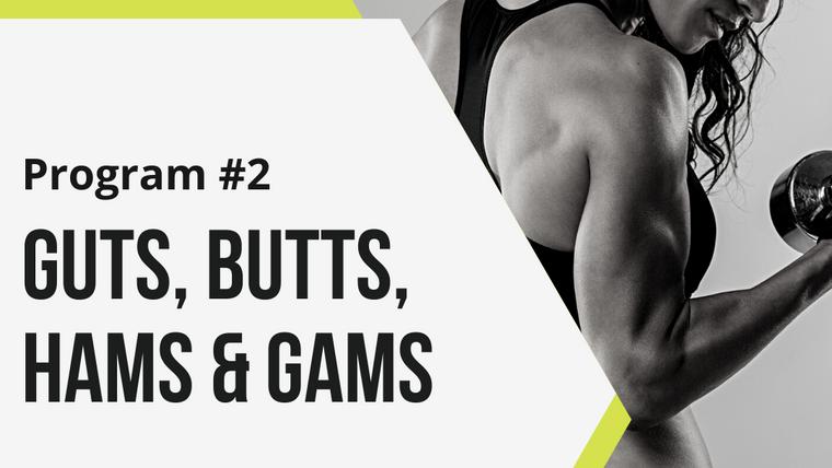 Program #2 - Guts, Butts, Hams & Gams