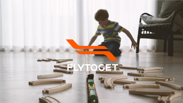 Flytoget - Barn reiser gratis