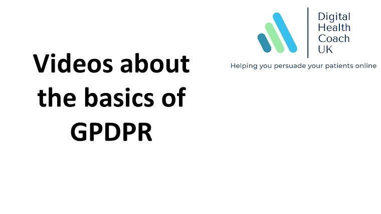 GPDPR - Basics