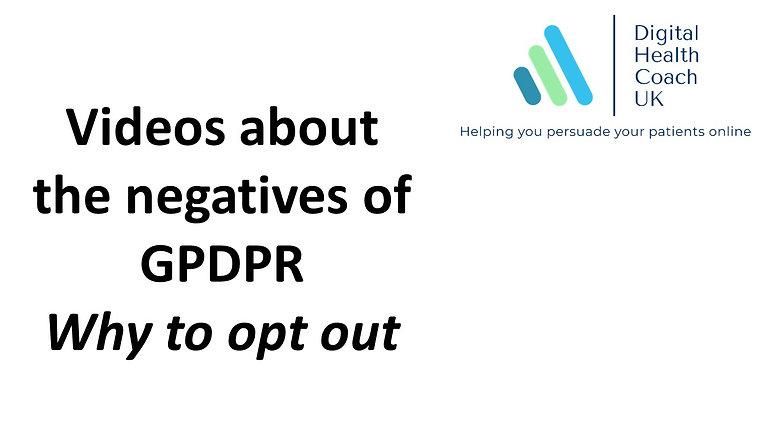 GPDPR - No