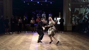 Lindy hop, Andrey Osipov & Eugenia Zlatina