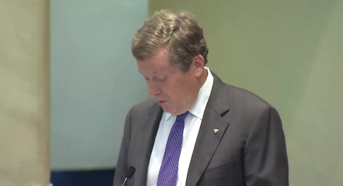 The city has a gun problem,  Toronto Mayor John Tory on Danforth mass shooting