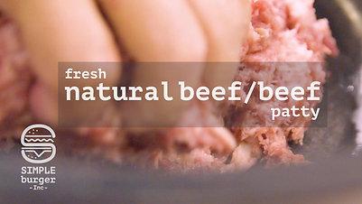 Natural Beef Patty