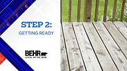 Behr Deck Stain- This Old House