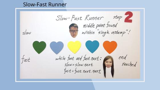 slow-fast runner