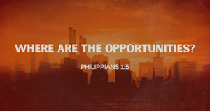 Where Are the Opportunities?   Charles Wilson Jr.   5/16/21