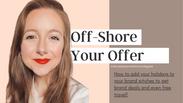Off-shore your Offer with Gemma (@instaworthytravelagent