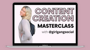 Content Planning Masterclass with @girlgangsocial