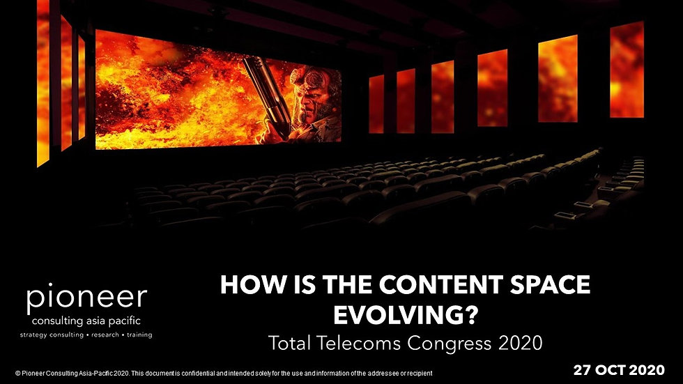 Recap - PCA's Virat Patel at Total Telecoms Congress 2020