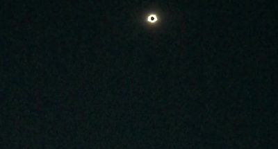 Total Eclipse In Chester, Illinois
