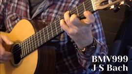 BMV 999 Bach Prelude