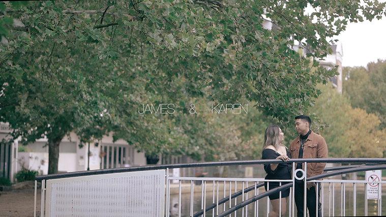 James & Karen's prewedding film