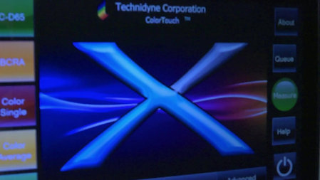 ColorTouchX ISO Brightness and Color video