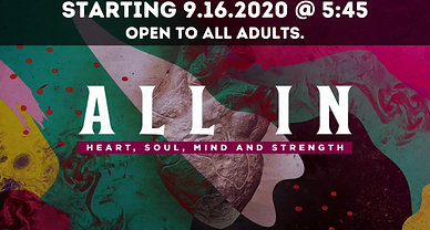 All In : Loving God With All We Are