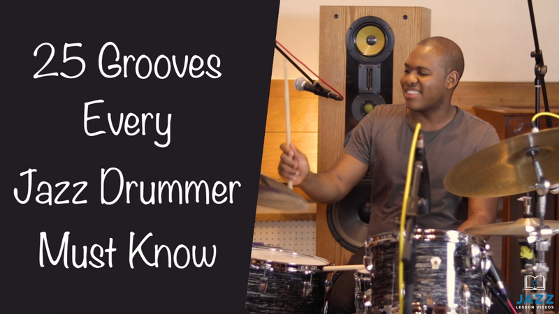 25 Grooves Every Jazz Drummer Must Know w/Bryan Carter