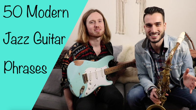 50 Modern Jazz Guitar Phrases