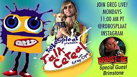 Greg Cipes 'Talk Cereal' on RoboSplaat: Brimstone Interview