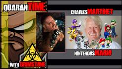 Brimstone & Charles Martinet (Nintendo's Mario/Luigi/Wario)