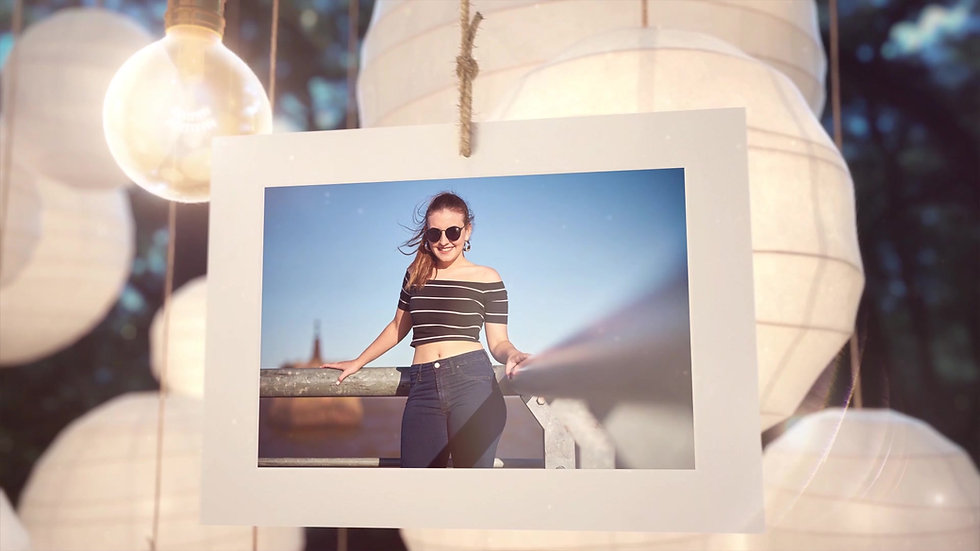 Clip Sesion Fotos Valentina