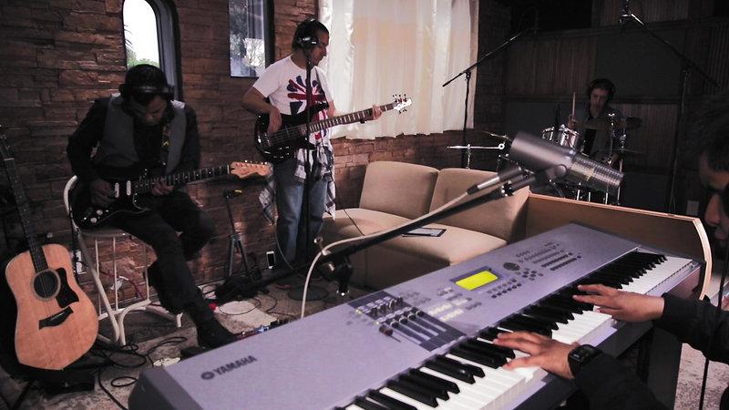 Dame paz - Live session
