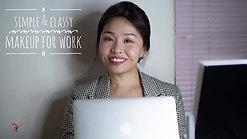 Classy & Light Makeup For Work