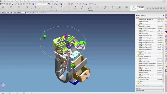 Video - Isilog and Mechatronics Concept Designer