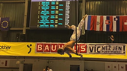 Vystoupení na gymnastickém Grand Prix Brno 2019