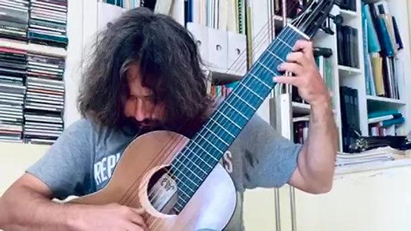 Francesco Iannitti - Preludio per chitarra a 11 corde - Christian Lavernier
