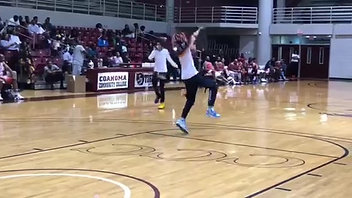 """Ayo & Teo Performs """"Rolex"""" During Clarksdale Celebrity Basketball Game"""