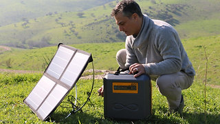 KaliPAK™ - The Best Portable Power Solar Kit
