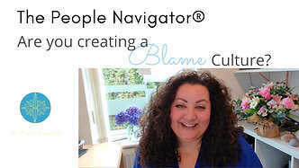 Are you creating a Blame Culture?