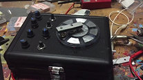 Circuit bent radio / noise sequencer