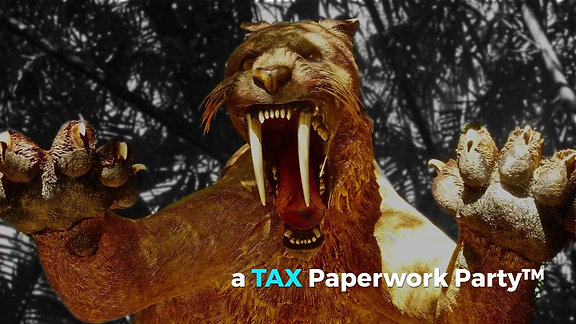 Safe from saber-tooth Tax Prep with...